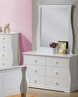 Youth Dresser w/ Mirror Nebo by Acme AC30106DM