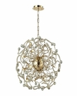 ELK Zebula 16 Light Chandelier in Polished Gold EK-31547-16