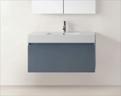 Zuri Grey 39in Single Bathroom Vanity by Virtu USA VU-JS-50339-GR-PRT