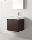 Zuri Wenge 24in Single Bathroom Vanity by Virtu USA VU-JS-50324-WG-PRT