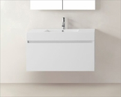 Zuri White 39in Single Bathroom Vanity by Virtu USA VU-JS-50339-GW-PRT
