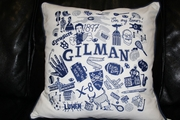 """Traditions"" Embroidered Pillow 105673"