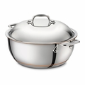 All-Clad Copper Core 5.5 Qt. Dutch Oven w/Lid - 6500SS