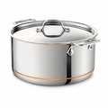 All-Clad Copper Core 8 Qt. Stockpot w/Lid - 6508SS