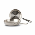 "All-Clad d5 Brushed Stainless 7"" & 9"" French Skillet Set - BD5510609"
