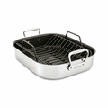 "All-Clad Gourmet Accessories 13"" x 16"" Large Nonstick Roaster w/Rack - E751S264"