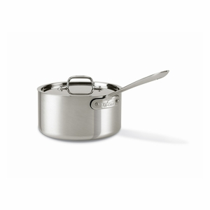 All-Clad Master Chef 2 - 3.5 Qt. Sauce Pan w/Lid - 7203-5