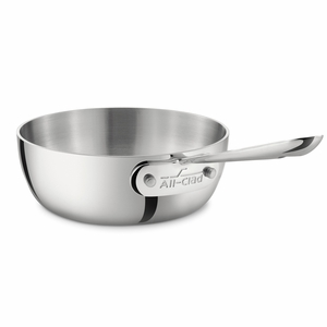 All-Clad Stainless Steel 1 Qt. Open Saucier - 4211