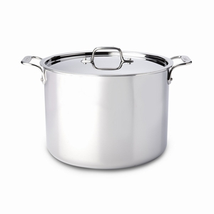 All-Clad Stainless Steel 12 Qt. Stockpot w/Lid - 4512