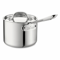 All-Clad Stainless Steel 2 Qt. Sauce Pan w/Lid - 4202
