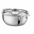 All-Clad Stainless Steel 3 Qt. Cassoulet w/Lid - 421349