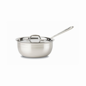 All-Clad Stainless Steel 3 Qt. Saucier w/Lid - 4213