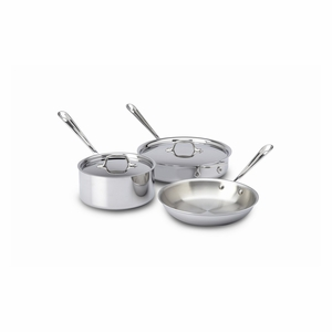 All-Clad Stainless Steel 5-Pc Cookware Set - 401599
