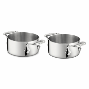 All-Clad Stainless Steel Soup Ramekins (Set of 2) - 59914