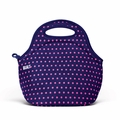 Built Gourmet Getaway Lunch Tote - Mini Dot Navy - LB31-MNV