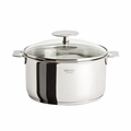Cristel Casteline Removable Handle - 2.5 Qt Saucepan w/Lid - C18QMPKP