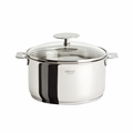 Cristel Casteline Removable Handle - 2 Qt Saucepan w/Lid - C16QMPKP