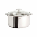 Cristel Casteline Removable Handle - 4.5 Qt Stew Pan w/Lid - F22QMPKP