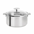 Cristel Mutine Removable Handle - 5.5 Qt Stew Pan w/Lid - F24PK