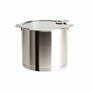 Cristel Strate Removable Handle - 10 Qt Stockpot w/Lid - M24QLKSA
