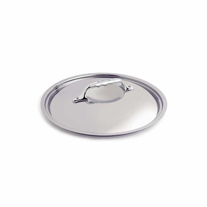"de Buyer 6.3"" Stainless Steel Lid - Fits both Affinity and Copper - 3709.16"