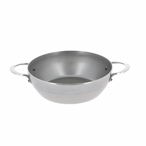 "de Buyer Mineral B Element 11"" Round Country Chef Frypan w/2 Handles - 5654.28"