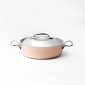 de Buyer Prima Matera 1.9 Qt. Saute Pan w/Stainless Steel Lid - 6241.20