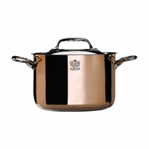 de Buyer Prima Matera 7.9 Qt. High Stewpan w/Stainless Steel Lid - 6243.24