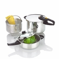 Fagor Duo Combi - 5-Pc. Pressure Cooker Set - 918060778