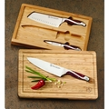 Hammer Stahl 3-Piece Bamboo Knife Set - HS-6302