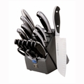 "Henckels Int'l Forged Synergy - 16 Pc ""East meets West"" Knife Block Set - 16028-000"