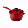 Le Creuset 1 1/2 Qt. Signature Iron Handle Precision Pour Saucepan - Cherry - LS2518-1667