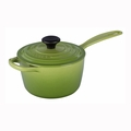 Le Creuset 1 1/2 Qt. Signature Iron Handle Precision Pour Saucepan - Palm - LS2518-164P