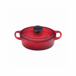 Le Creuset 1 Qt. Signature Oval French Oven - Cherry - LS2502-1767