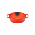 Le Creuset 1 Qt. Signature Oval French Oven - Flame - LS2502-172