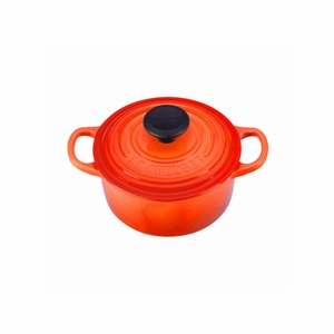Le Creuset 1 Qt. Signature Round French Oven - Flame - LS2501-142
