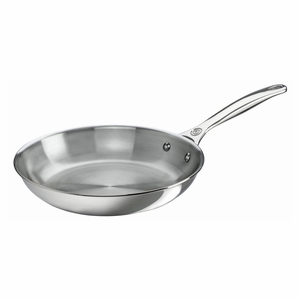 "Le Creuset 10"" Fry Pan - Stainless Steel - SSP2000-26"