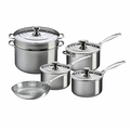 Le Creuset 10 Piece Set- Stainless Steel - SSP14110