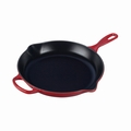 "Le Creuset 11 3/4"" (2 3/8 Qt.) Signature Iron Handle Skillet - Cherry - LS2024-3067"