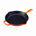 "Le Creuset 11 3/4"" (2 3/8 Qt.) Signature Iron Handle Skillet - Flame - LS2024-302"