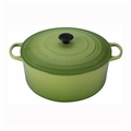 Le Creuset 13 1/4 Qt. Signature Round French Oven - Palm - LS2501-344P