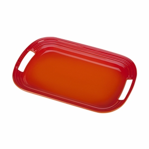 "Le Creuset 14"" Serving Platter - Flame - PG0309-362"