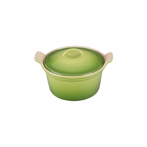 "Le Creuset 18 oz. (6 1/4"") Heritage Covered Cocotte - Palm - PG1560-134P"