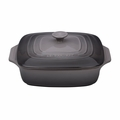 """Le Creuset 2 3/4 Qt. (9 1/2"""") Covered Square Casserole - Oyster - PG1357S3A-247F"""