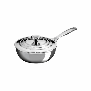 Le Creuset 2 qt. Saucier Pan with Lid2016 House Special - Stainless Steel - SSP6100-20