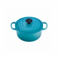 Le Creuset 2 Qt. Signature Round French Oven - Caribbean - LS2501-1817