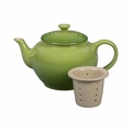 Le Creuset 22 oz. Small Teapot with Infuser - Palm - PG0302-084P