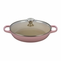 Le Creuset 3 1/2 Qt. Buffet Casserole w/Glass Lid - Hibiscus (2016 House Special) - LS2680-3014SS
