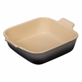 "Le Creuset 3 Qt. (9"") Heritage Square Dish - Oyster - PG0800-237F"