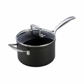 Le Creuset 3 Qt. Saucepan with Glass Lid - Toughened Nonstick - HA1200-18